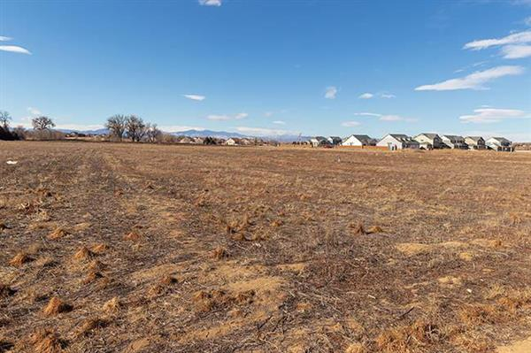 Photo of land where the new Pre-K-8 school will be built